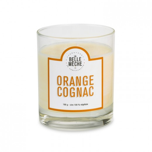 Bougie Orange Cognac