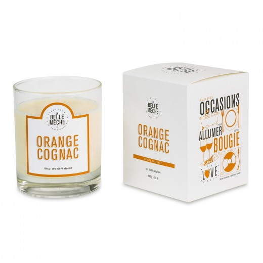Bougie Orange Cognac