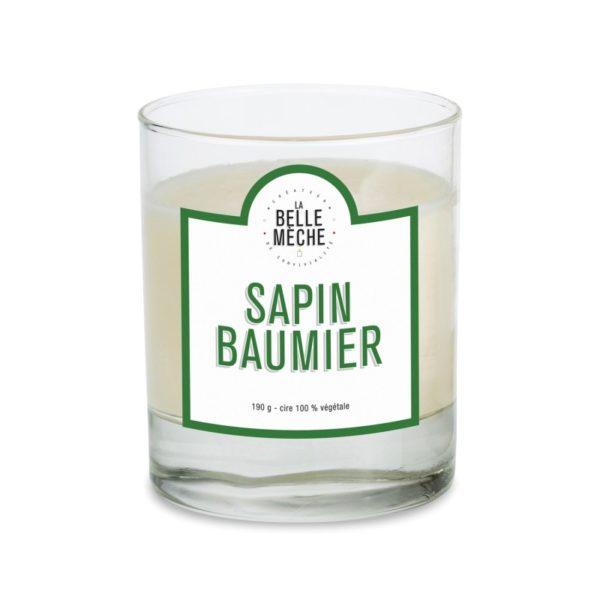 Bougie Sapin baumier