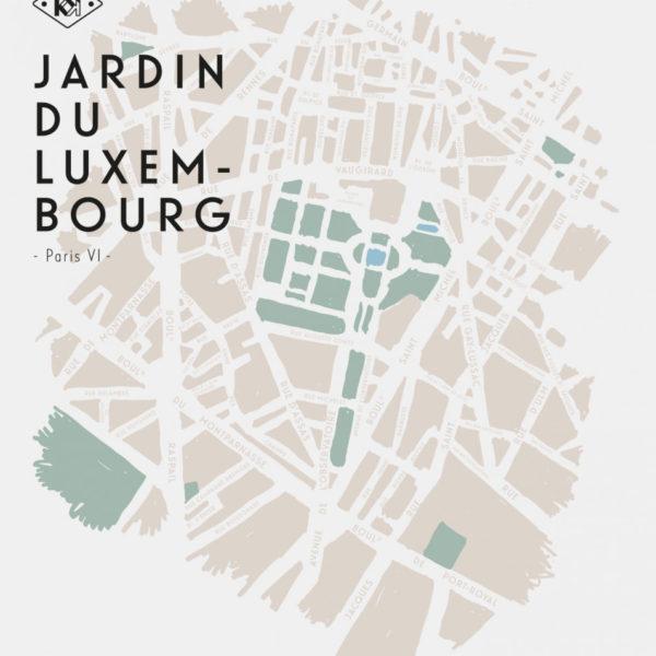 Brume Jardin du Luxembourg