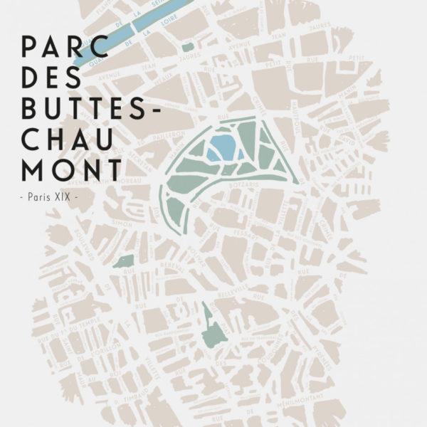 Brume Parc des Buttes-Chaumont