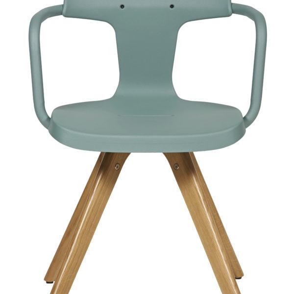 Chaise T14 pieds bois