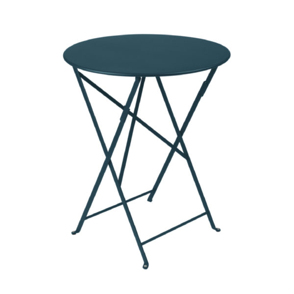 Table métal Ø 60 cm BISTRO