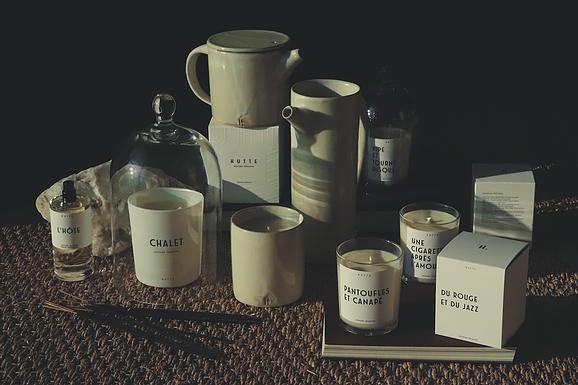 hutte parfumerie