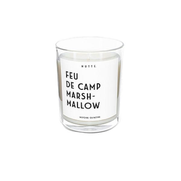 Bougie Feu de Camp Marshmallow